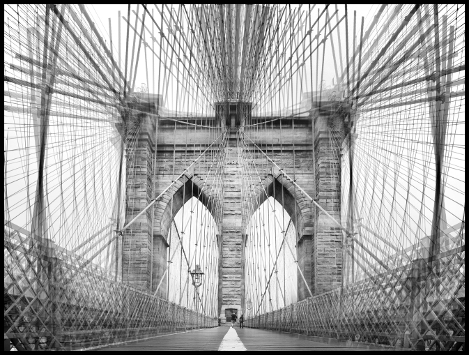 Brooklyn Bridge Abstract FB